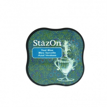 StazOn midi Vibrant Teal Blue
