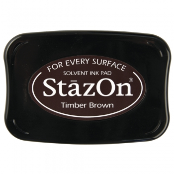 StazOn Stempelkissen Timber brown