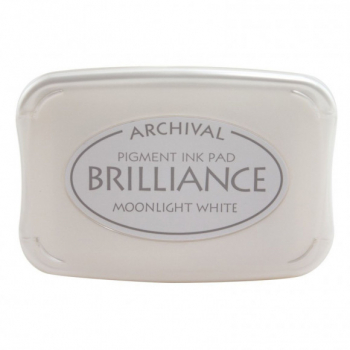 Brilliance ink pad Moonlight White