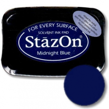 StazOn Midnight blue