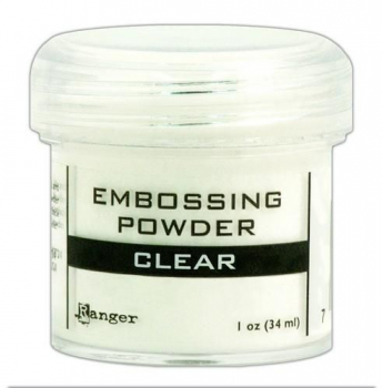 Ranger Embossing Powder, clear