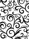 Prägeschablone / Embossing folder, scroll background